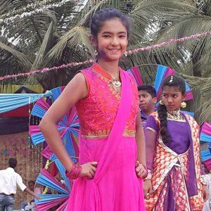 Anushka Sen Holi Photos